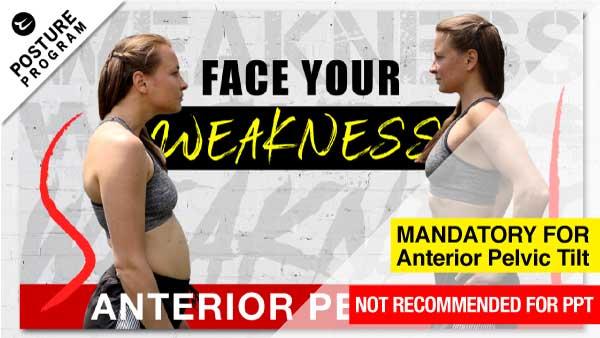fix anterior pelvic tilt workout