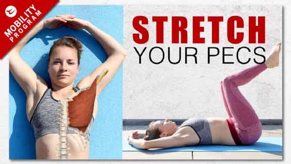 Open chest exercises