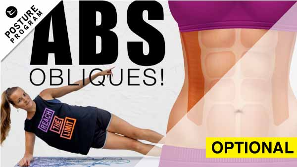 Obliques exercises in pank