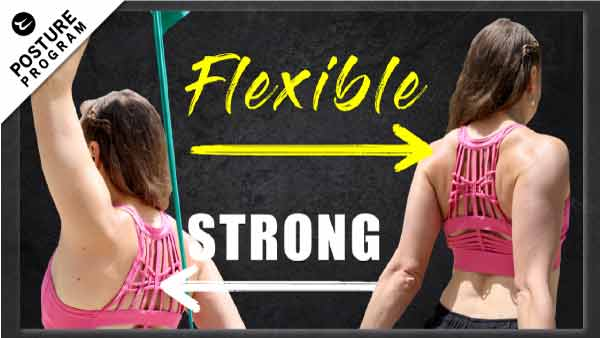 resistance band workout for better posture