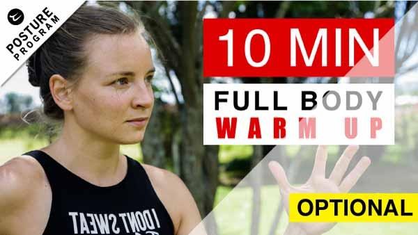 10 min Warm up video